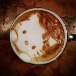 tasse à café hello kitty