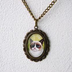 grumpy cat bijoux