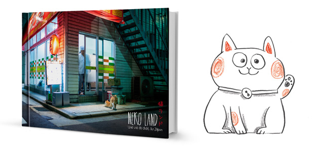 nekoland livre chat japon