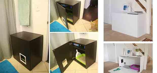 Idees Cadeaux Chat Les Maisons Toilettes Litieres